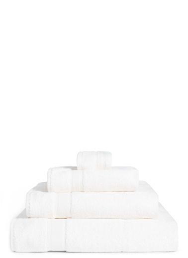 Marks & Spencer Yumuşak Dokulu Saf Pamuklu Havlu Beyaz